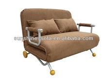 Steel Bedroom 2 Seat Sofa Bed