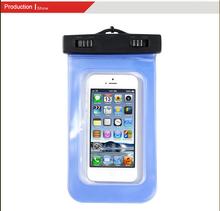 2015 Hot Sales 100% Seal PVC plastic cell phone waterproof bag