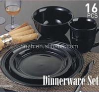 16pcs stock closeout walmart dinnerware sets