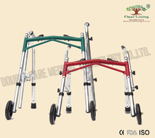Height and foldding children walker rollator
