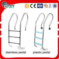 stainless steel swimming pool handrail ladder