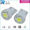 Ultra White T10 1 SMD 5050 LED Light bulbs Wedge 194 168 2825 158 W5W Bulb