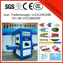 Newest Hot sale Nike and Adidas sport Shoes High Frequency welding and cutting machine, with CE, China Manufacturer