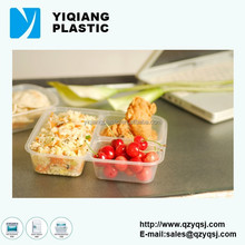 3 compartments disposable food packaging