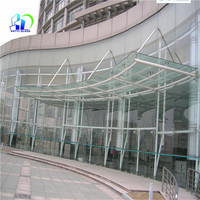 front door laminated tempered glass canopy frameless glass canopy white laminated safe glass
