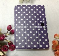 Factory !!!!stitch case for ipad mini ,leather case for mini ipad 2 wallet
