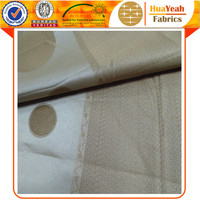 Custom striped jacquard fancy curtain fabric yarn hotel drapery