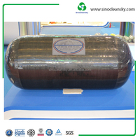 High Pressure Low Weight 20MPa 57L ISO11439 Type 3 CNG Cylinder for Bus