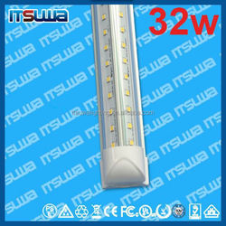 LED cooler light LED fluorescent replacement 5foot, overpower protection, Super Bright, v shape 32w