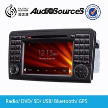 car stereo for ML CLASS W164(2005-2012) car dvd player with GPS navigation SD USB bluetooth HD player