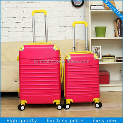 Fashion New Used 100% PC ABS Luggage for sale/urban us for polo vip trolley case eminent luggage