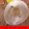 Pequeñas y redondas globos de látex en forma