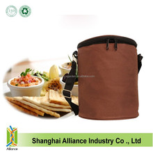 Large Capacity recyclable cheap oxford thermal lunch cooler bag with Shoulder Strap