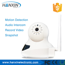 Low cost easy to install Wifi wireless p2p ip camera with PIR motion detection and Night vision