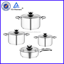 stainless steel non-stick fry pans pass SGS and LFGB
