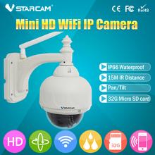Day/Night 1Mp CMOS HD Network dome Camera ip camera micro SD memory card