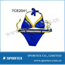 sexy printed women's bikini garments for promotion