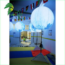 Inflatable led Stand Balloon With Pole Pvc Led Balloon light
