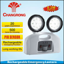 PIR sensor rechargeable emergency channel light