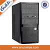 Mid Tower pc case with metal net cover front panel nas serve case