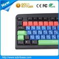 Fabricante colorido tipos de teclado do computador
