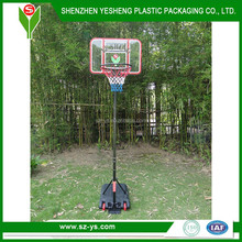 China wholesale movable plastic basketball stand