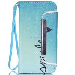 wallet design leather case #89 for iphone 4G/4S