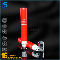 Metal roll-on cosmetic massage soft tube