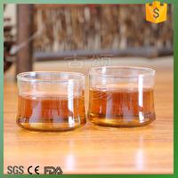 100ml single wall glass tea cup