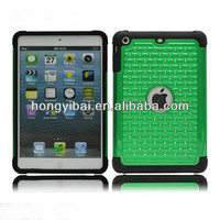 New design diamond studded case for tablet pc ipadmini