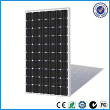 low price and MOQ 5w to 300w solar panel mono
