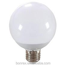 Bonrex 9W E27 18x5730SMD 6000-6500K Cool White Light LED Globe Bulb(AC85-265V)