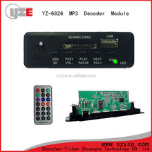 hot selling usb sd music player circuit for car audio player system