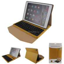 Shockproof leather case for iPad 9.7 inch Air2 with bluetooth keyboard
