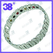 38 jewelry Popular style stainless steel magnetic bracelet for men or women bracelet moissanite