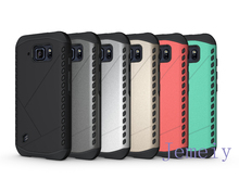 Mobile Phone Cases Slim Armor Robot 2 in 1 Combo Back Cover Shield Case For Samsung Galaxy S6 Active