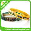 Hot promotional silicone slap bracelets bulk cheap custom silicone bracelet