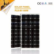 100W Mono solar panel, China solar pv modules