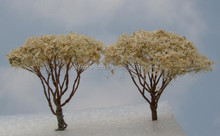 2015 New Model Iron White Color tree Scale Metal Tree Miniature Tree
