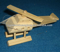 new hot&popular lovely decorative wooden toy airplane models for kids