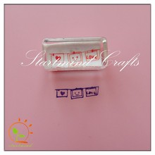 scrapbooking clear stamps , plastic acrylic embossing stamp for scrapbook