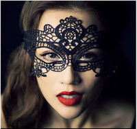 Costume ball Bud silk mask for women