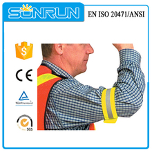 Promotional reflective upper arm cuff