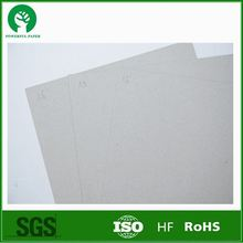 China wholesale 2mm Grey Paperboard/Grey Cardboard