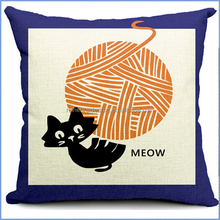 baby cat cushion, car sofa cushion, cat cushion pillow