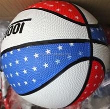 custom rubber basketball balls
