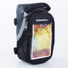 2015 waterproof bike cell phone bag, handlebar bag for cell phone