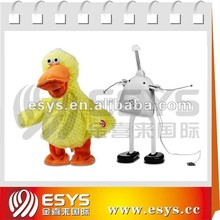 Singing and dancing duck doll with different actions for plush