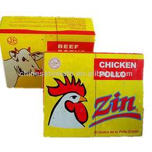 HALAL beef and chicken broth seasoning cube