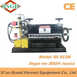 latest patented BS-015M latest patented BS-002 power line recycling cable making equipment